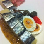 Pickled Herring and Truffled Yukon Gold Torte